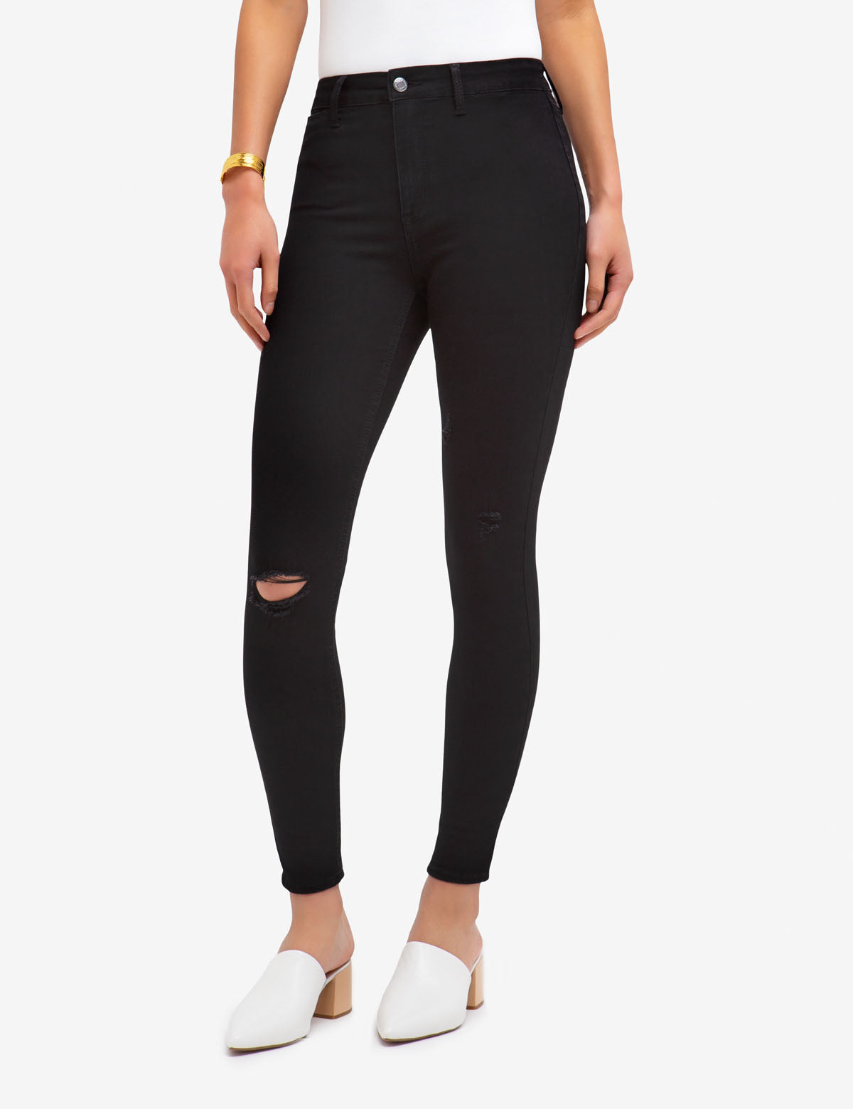 REPREVE® HIGH RISE DESTRUCTED JEGGING