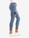 MID RISE SHORT SUPER SKINNY PATCHED JEANS - U.S. Polo Assn.