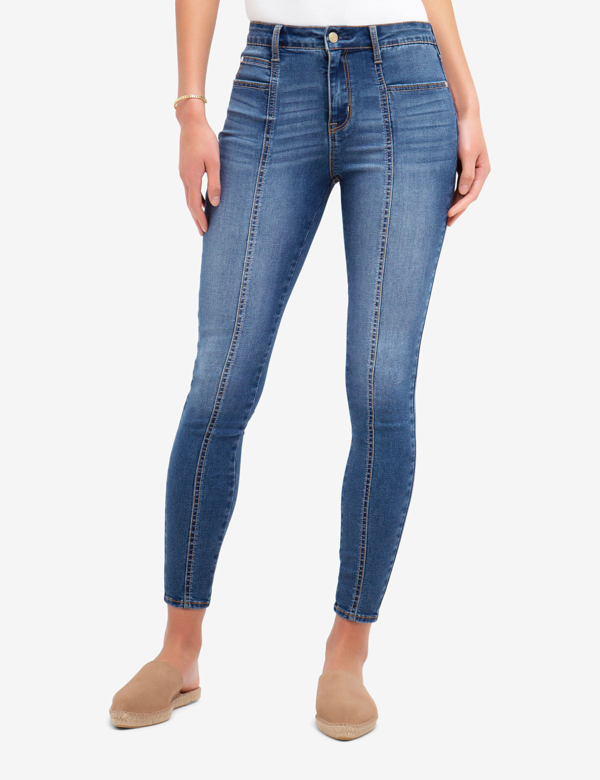 REPREVE® HIGH RISE MOTO JEGGING - U.S. Polo Assn.
