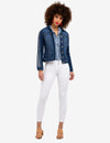 RACING STRIPES DENIM JACKET - U.S. Polo Assn.