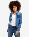 SHADOW POCKET DENIM JACKET - U.S. Polo Assn.