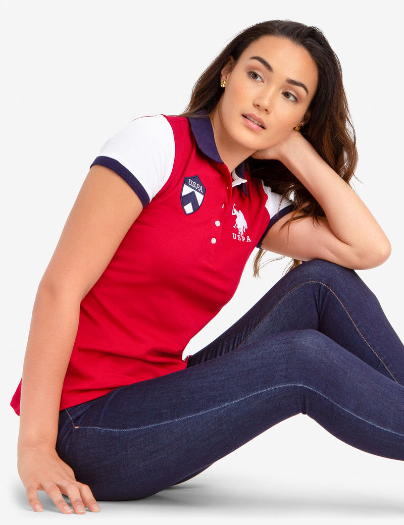 USPA COLORBLOCK POLO SHIRT