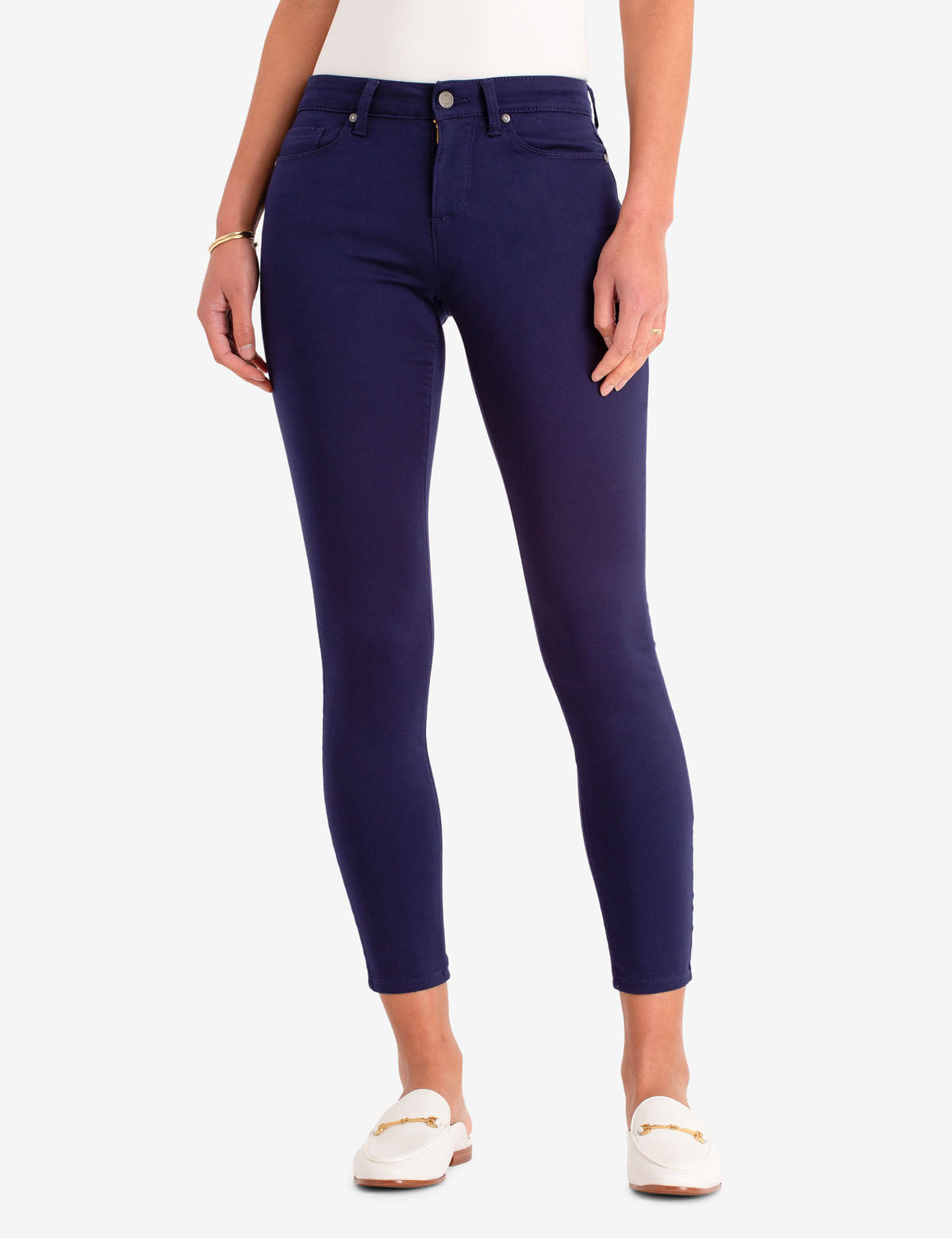 MID RISE SATEEN JEGGING