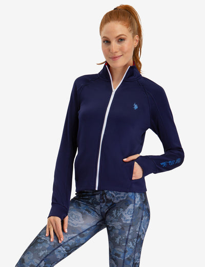ZIP UP JACKET - U.S. Polo Assn.