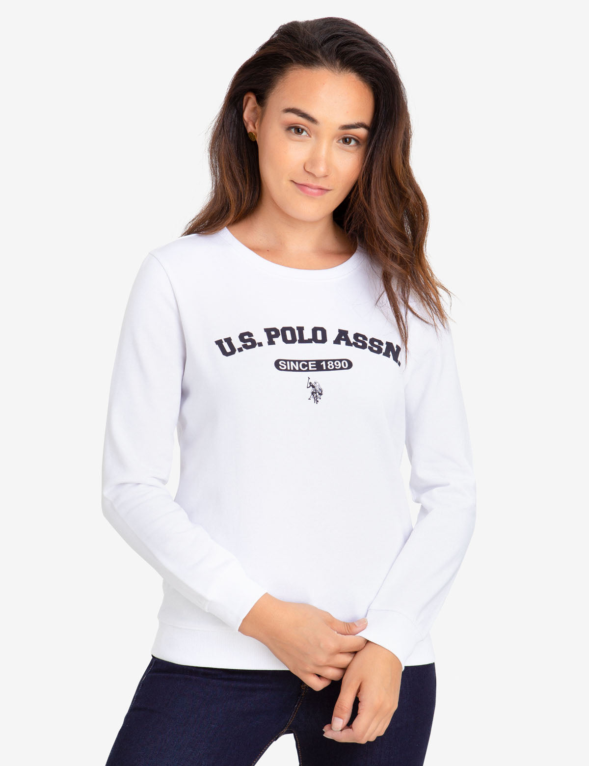 U.S. POLO ASSN. CREW NECK SWEATSHIRT