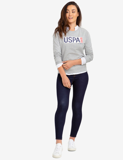 USPA CREW NECK SWEATSHIRT - U.S. Polo Assn.