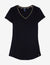 METALLIC TRIM V-NECK - U.S. Polo Assn.