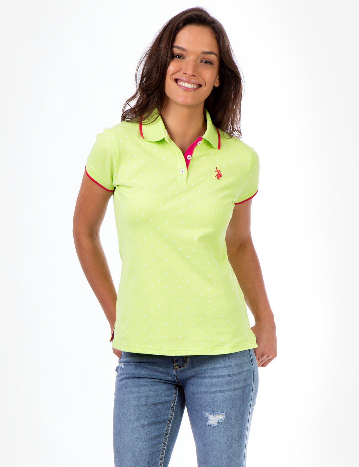 DOT PRINT POLO SHIRT - U.S. Polo Assn.