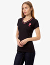 NEON V-NECK T-SHIRT - U.S. Polo Assn.