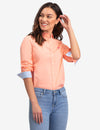 SOLID POPLIN LONG SLEEVE SHIRT - U.S. Polo Assn.