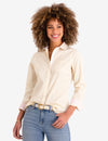 STRIPED POPLIN LONG SLEEVE SHIRT - U.S. Polo Assn.