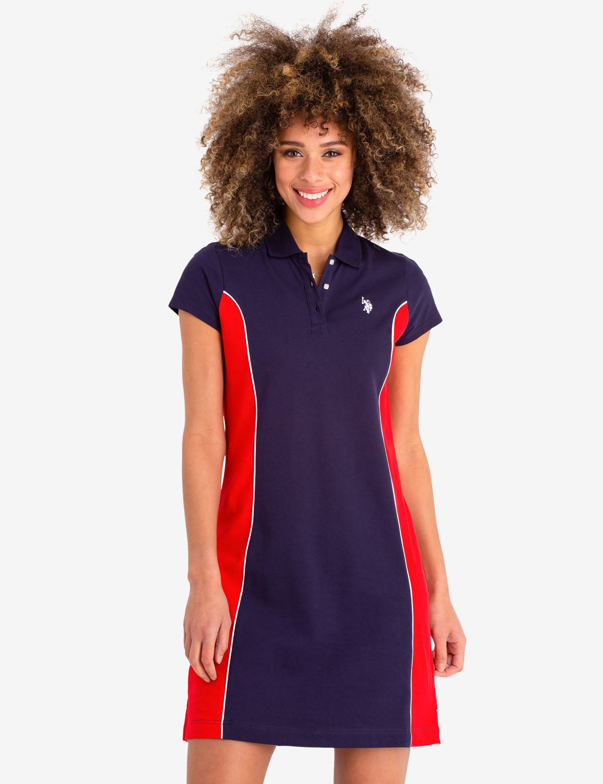 PRINCESS PANEL POLO DRESS