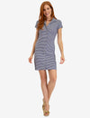 STRIPED BUTTON UP DRESS - U.S. Polo Assn.