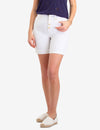 WHITE BUTTON FRONT DENIM SHORTS - U.S. Polo Assn.