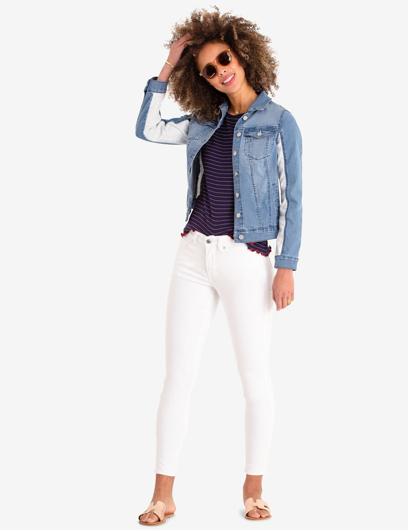 WHITE JEGGING - U.S. Polo Assn.