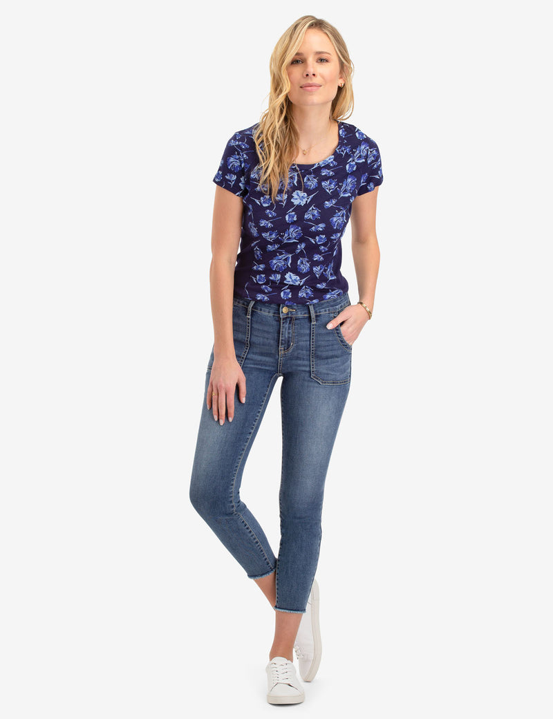 UTILITY MID RISE CROP JEGGING