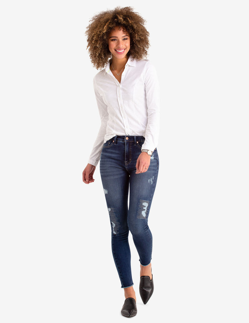 DESTRUCTED JEGGING - U.S. Polo Assn.