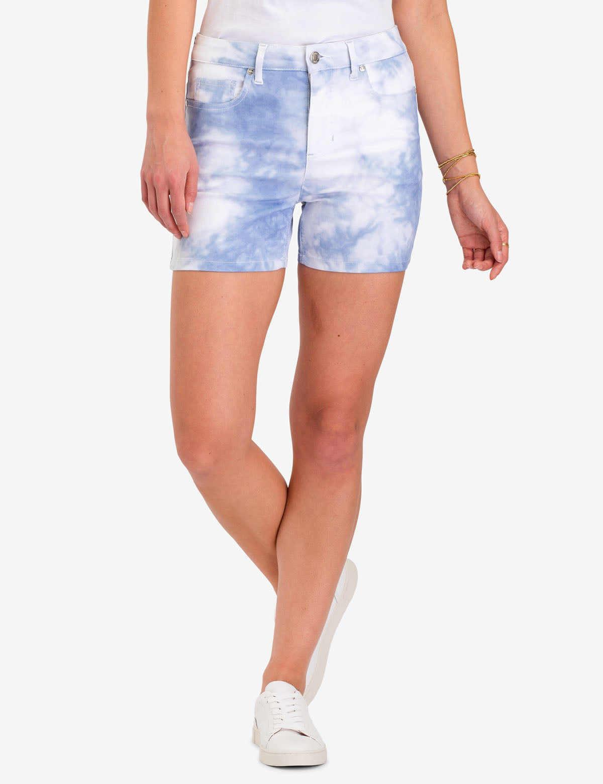 TIE DYE DENIM SHORTS - U.S. Polo Assn.