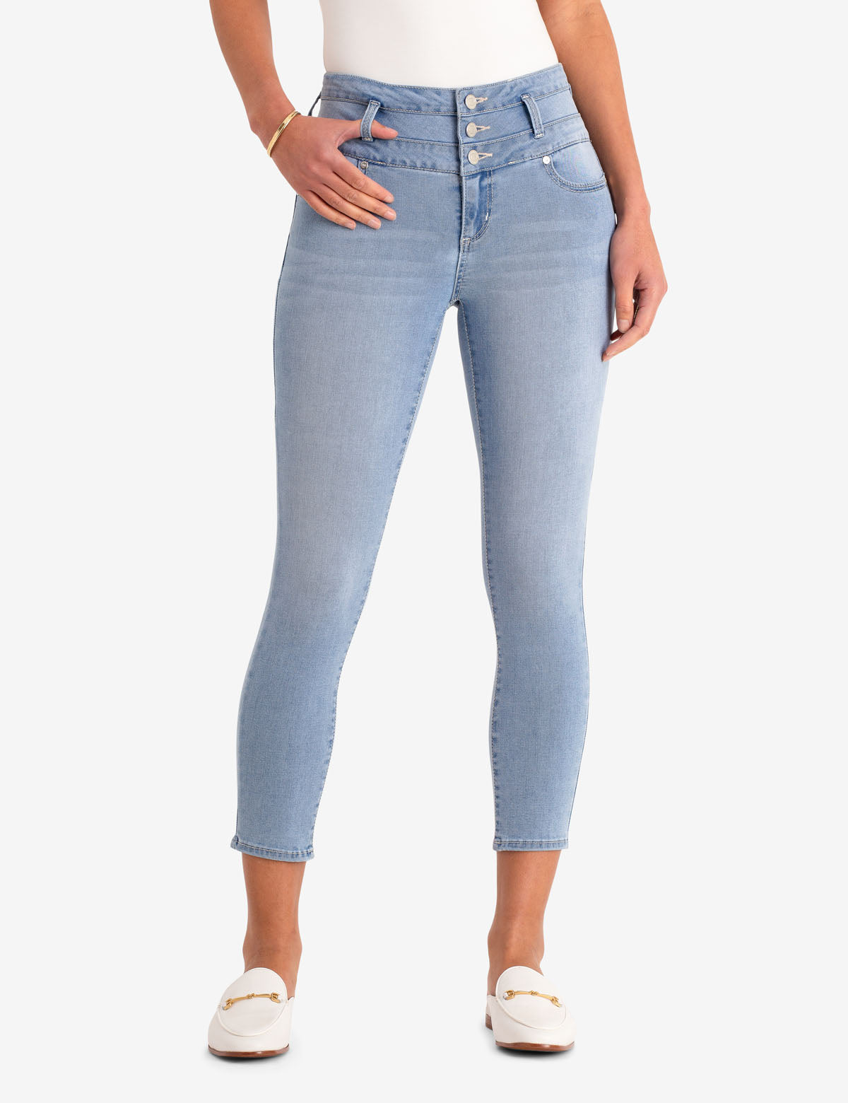 STACKED WAIST CROPPED JEGGING - U.S. Polo Assn.