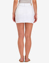 WHITE DENIM SKIRT - U.S. Polo Assn.