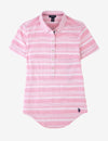 STRIPE BUTTON FRONT POPOVER SHORT SLEEVE SHIRT - U.S. Polo Assn.