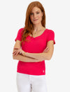 KEYHOLE RIB TOP - U.S. Polo Assn.