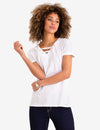 LACE UP T-SHIRT - U.S. Polo Assn.