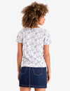 ALL OVER PRINT LACE UP TOP - U.S. Polo Assn.
