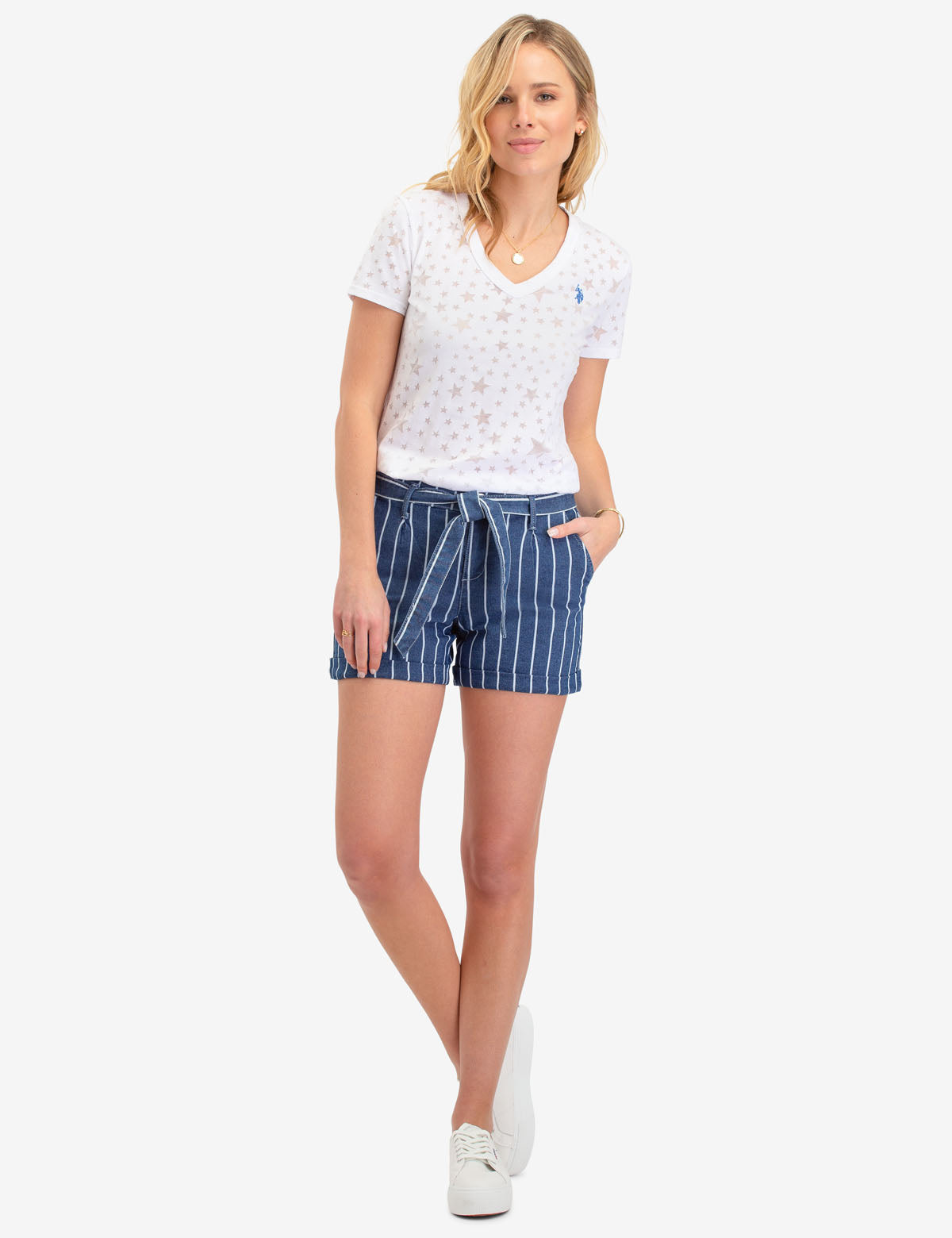 STRIPED SHORTS - U.S. Polo Assn.