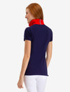 SHOULDER STRIPED POLO SHIRT - U.S. Polo Assn.