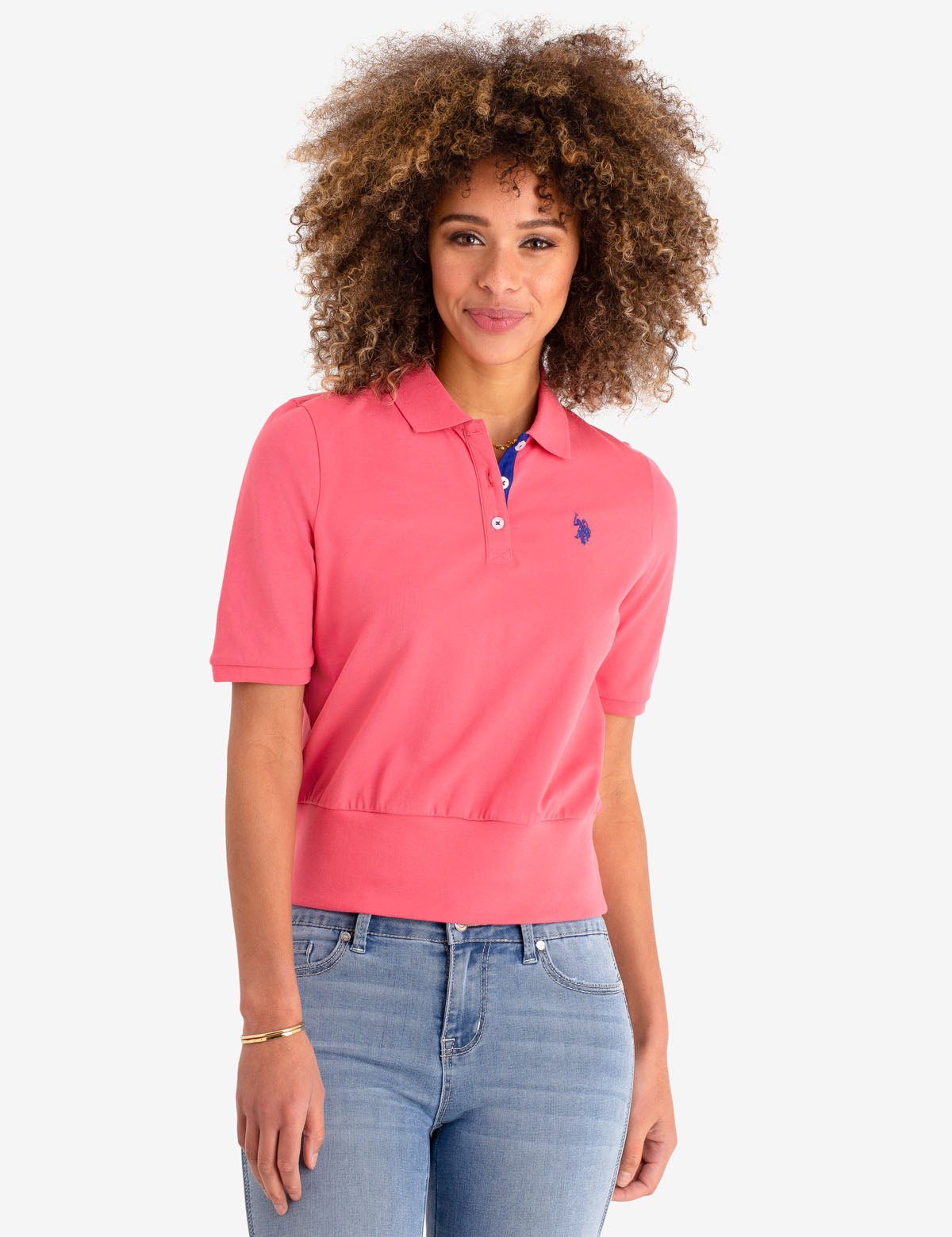 RIBBED HEM POLO SHIRT - U.S. Polo Assn.