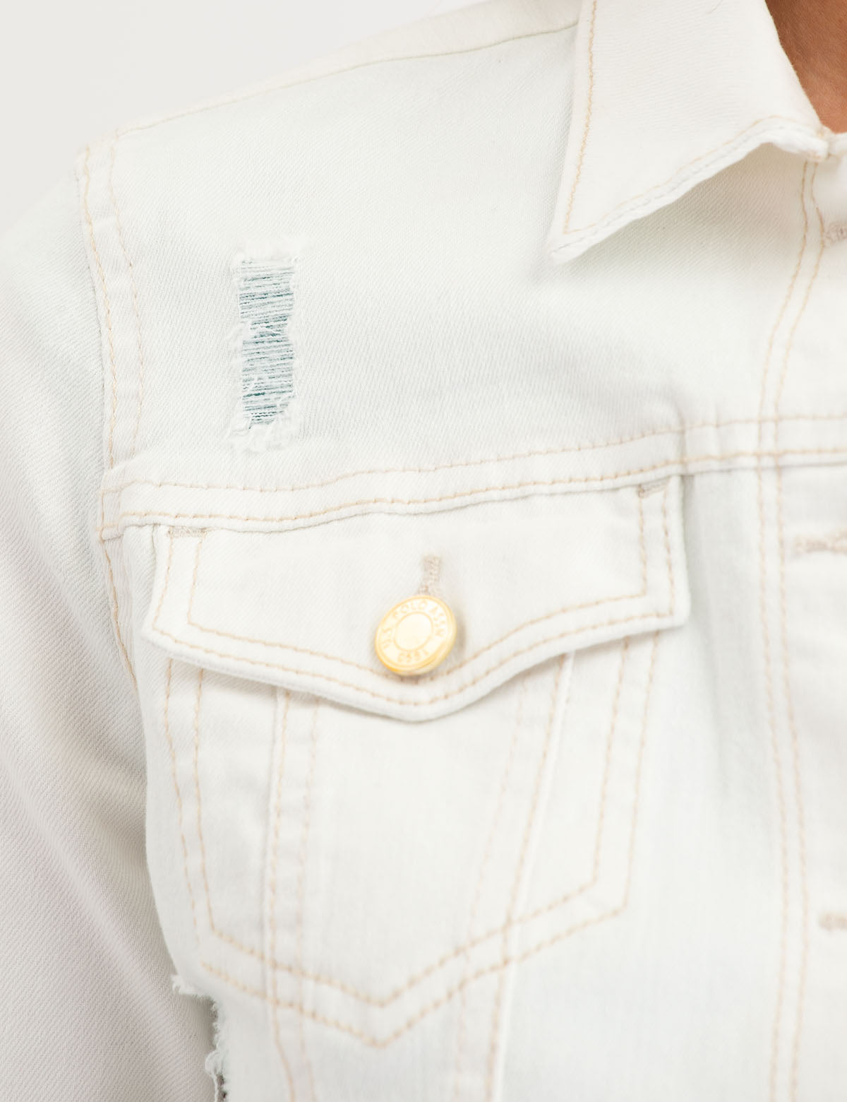 TAN DENIM JACKET - U.S. Polo Assn.