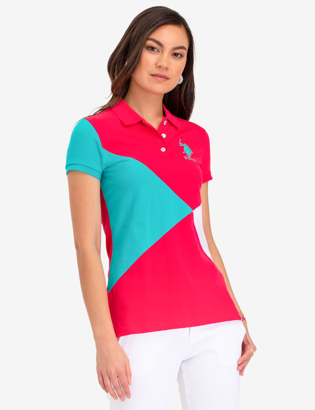 COLOBLOCK POLO SHIRT