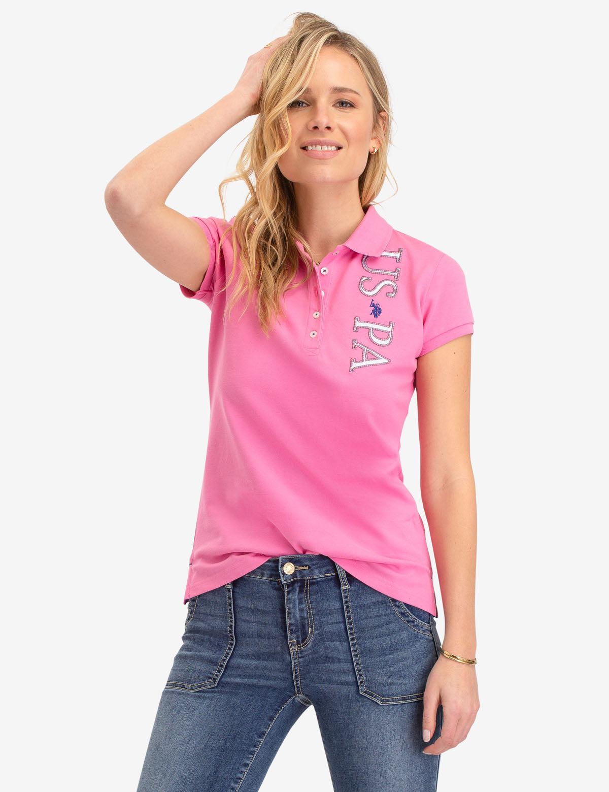 USPA LOGO POLO SHIRT