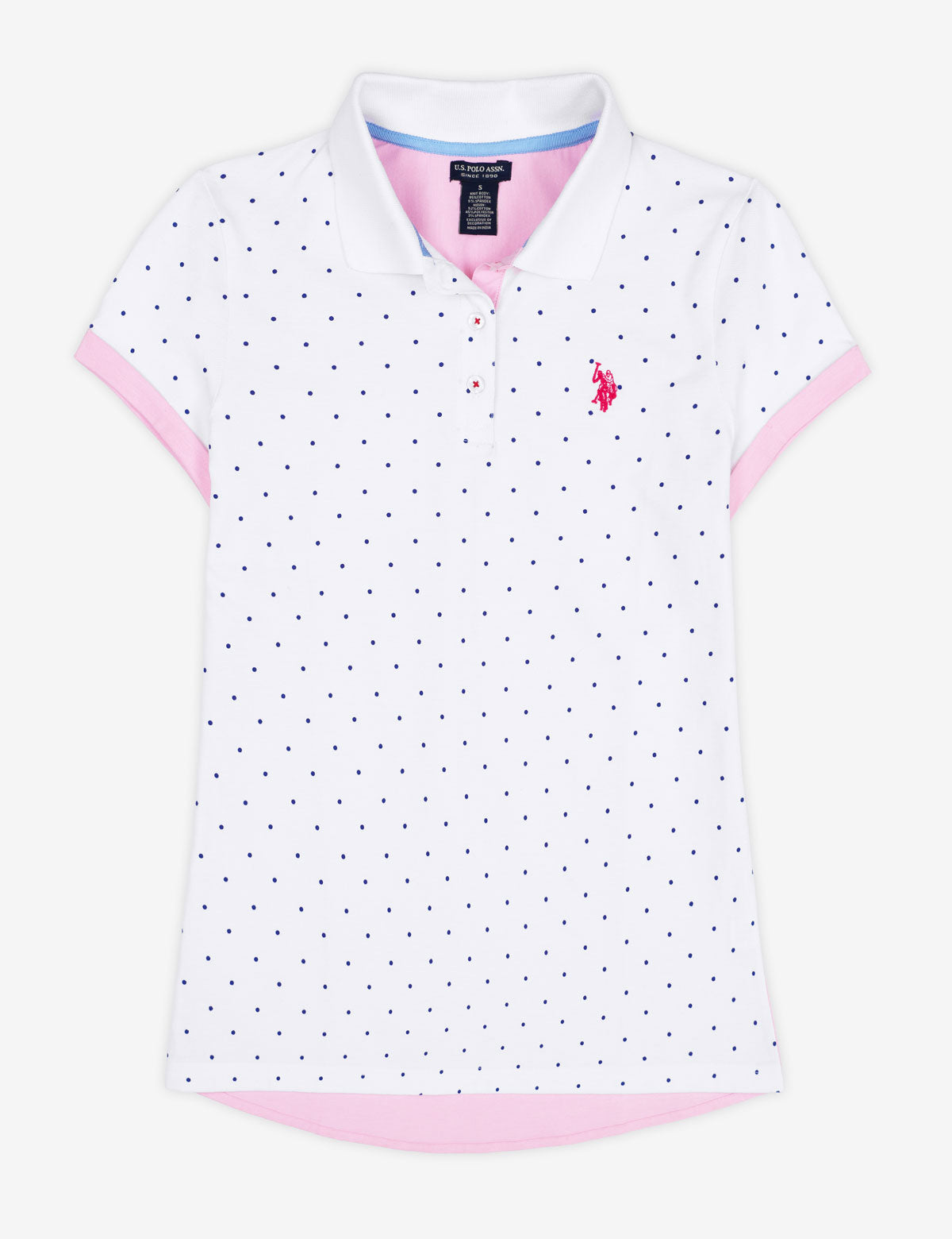 OXFORD BACK DOT POLO SHIRT - U.S. Polo Assn.