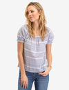STRIPED SHORT SLEEVE SHIRT - U.S. Polo Assn.