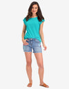 STUDDED SHORT SLEEVE TOP - U.S. Polo Assn.
