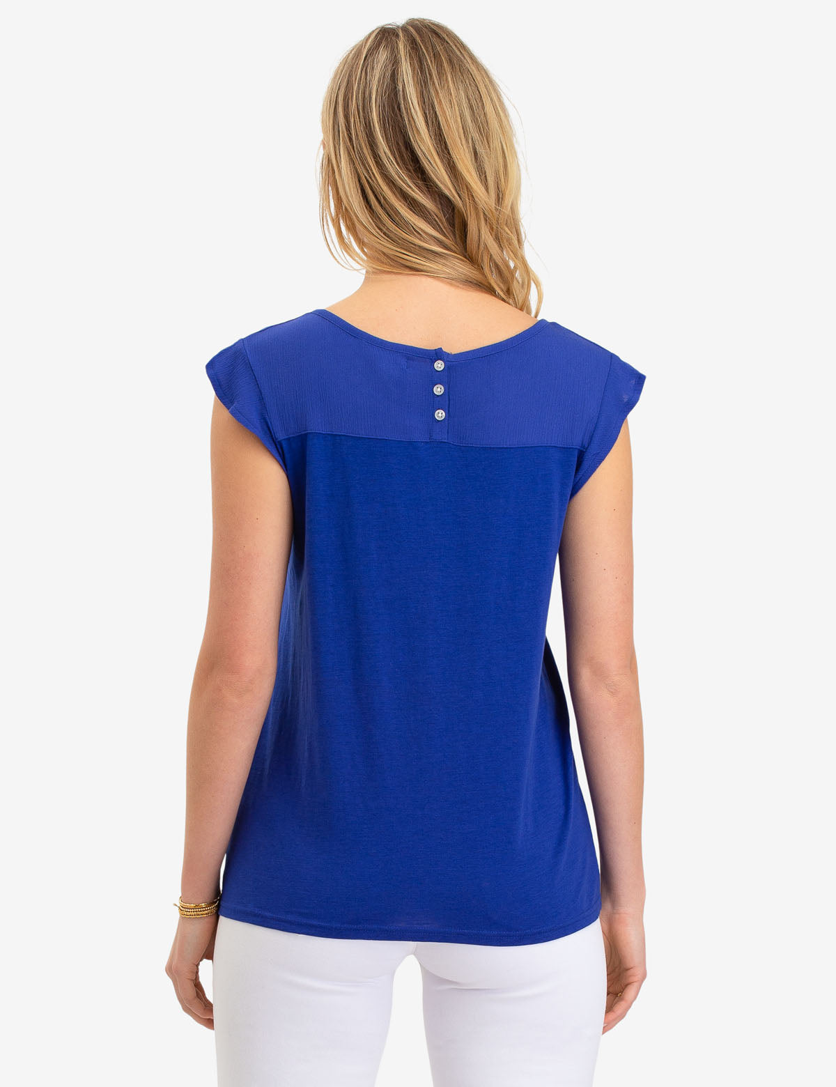 CHIFFON RUFFLE TOP - U.S. Polo Assn.