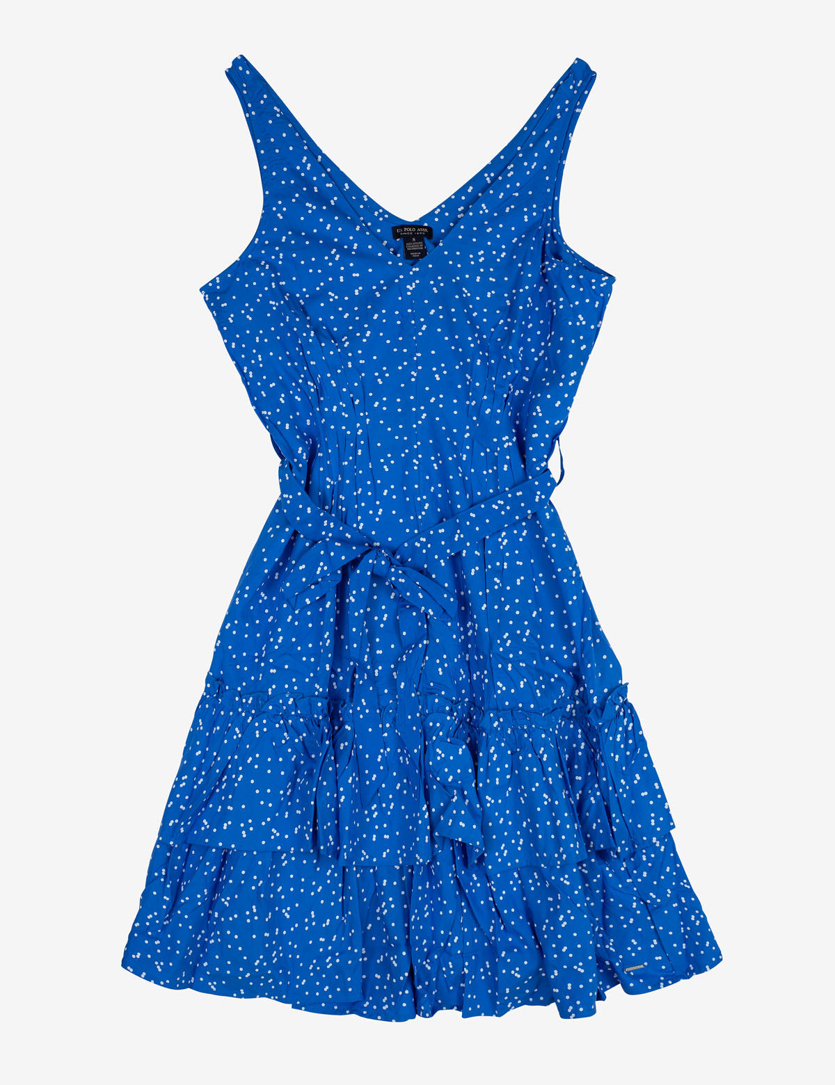 RUFFLE DOT DRESS - U.S. Polo Assn.