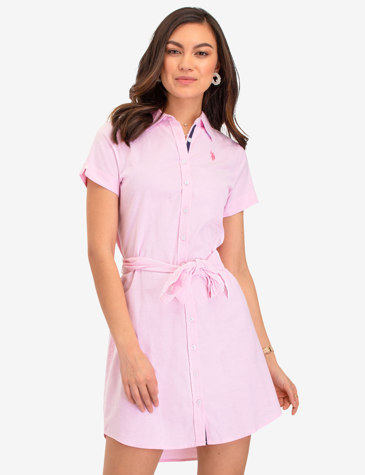 SHORT SLEEVE OXFORD DRESS - U.S. Polo Assn.