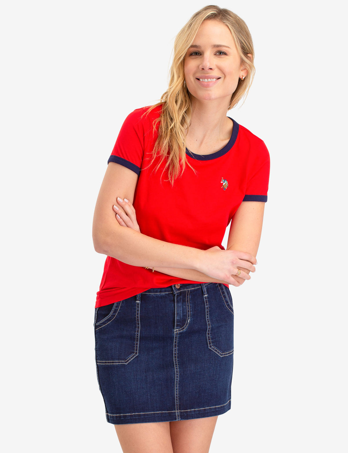 MULTI PONY RINGER T-SHIRT - U.S. Polo Assn.