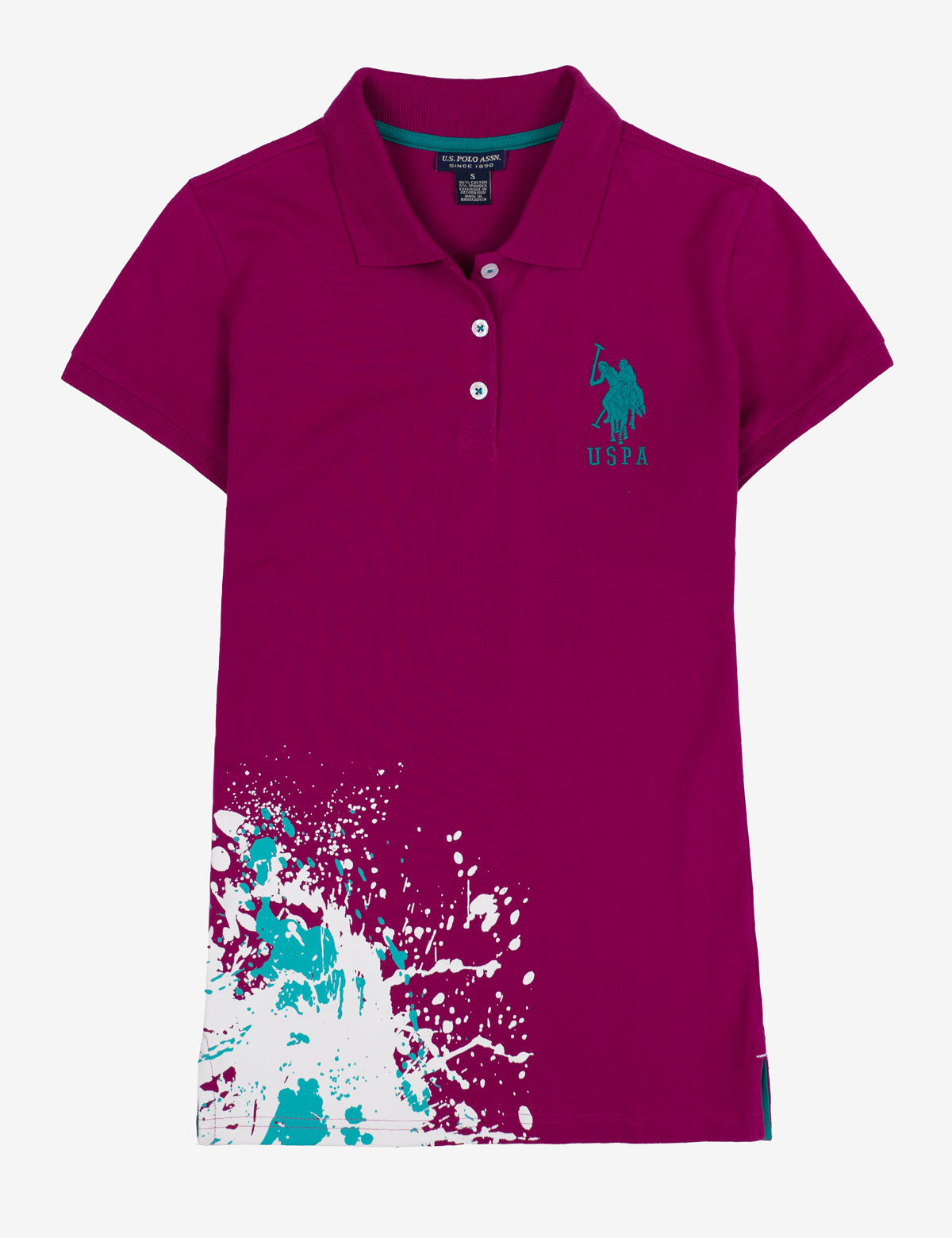 PAINT SPLATTER POLO SHIRT - U.S. Polo Assn.