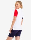 COLORBLOCK USPA CIRCLE LOGO POLO SHIRT - U.S. Polo Assn.