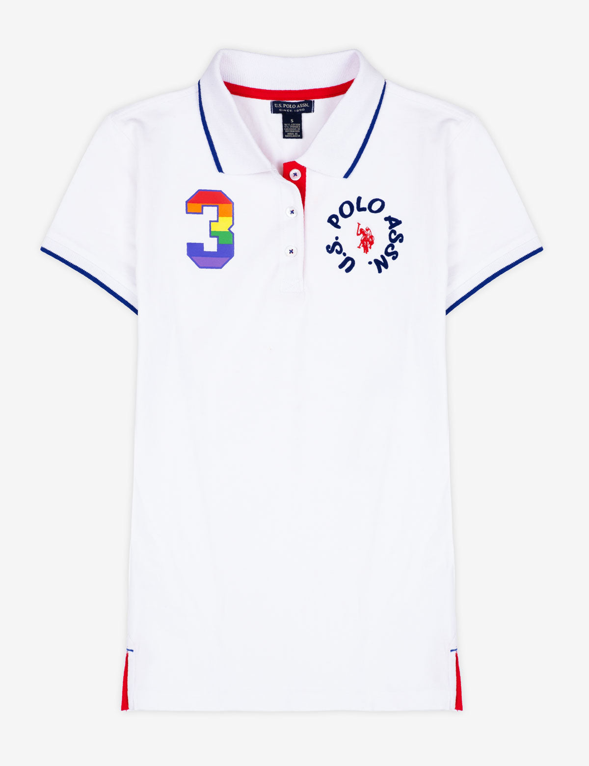 CIRCLE RAINBOW POLO SHIRT - U.S. Polo Assn.