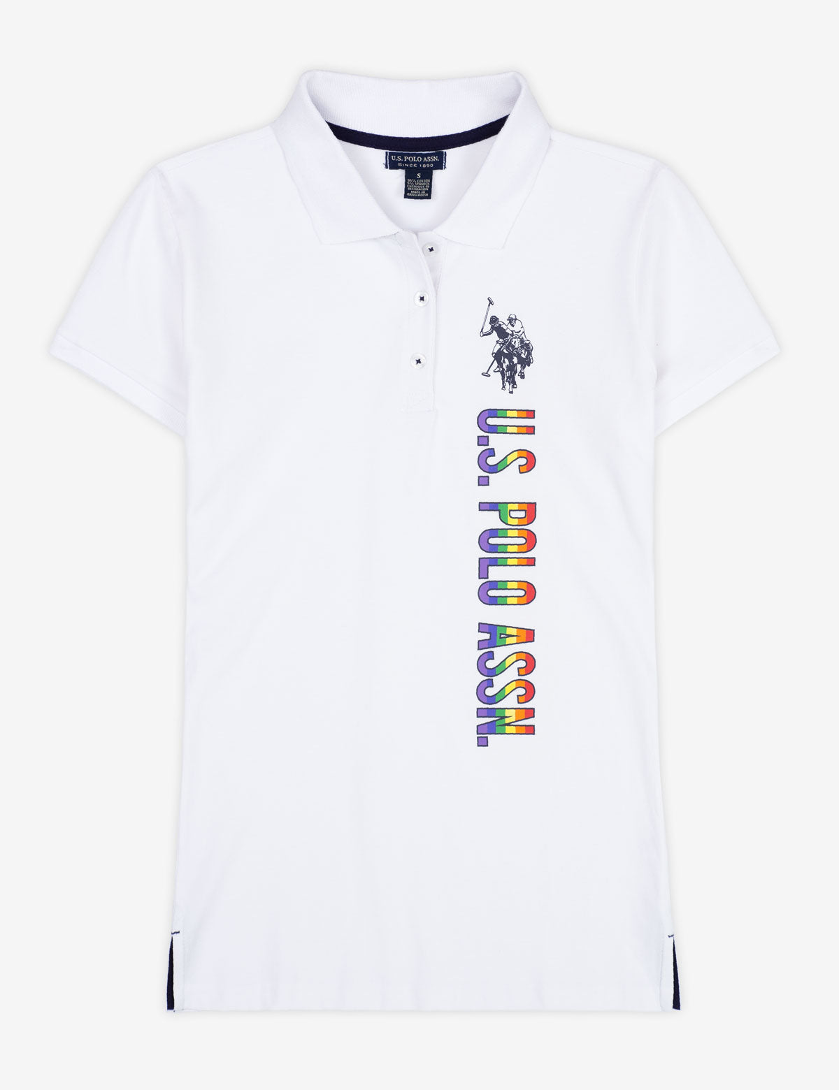 VERTICAL RAINBOW POLO SHIRT - U.S. Polo Assn.