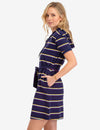 STRIPED HOODIE DRESS - U.S. Polo Assn.
