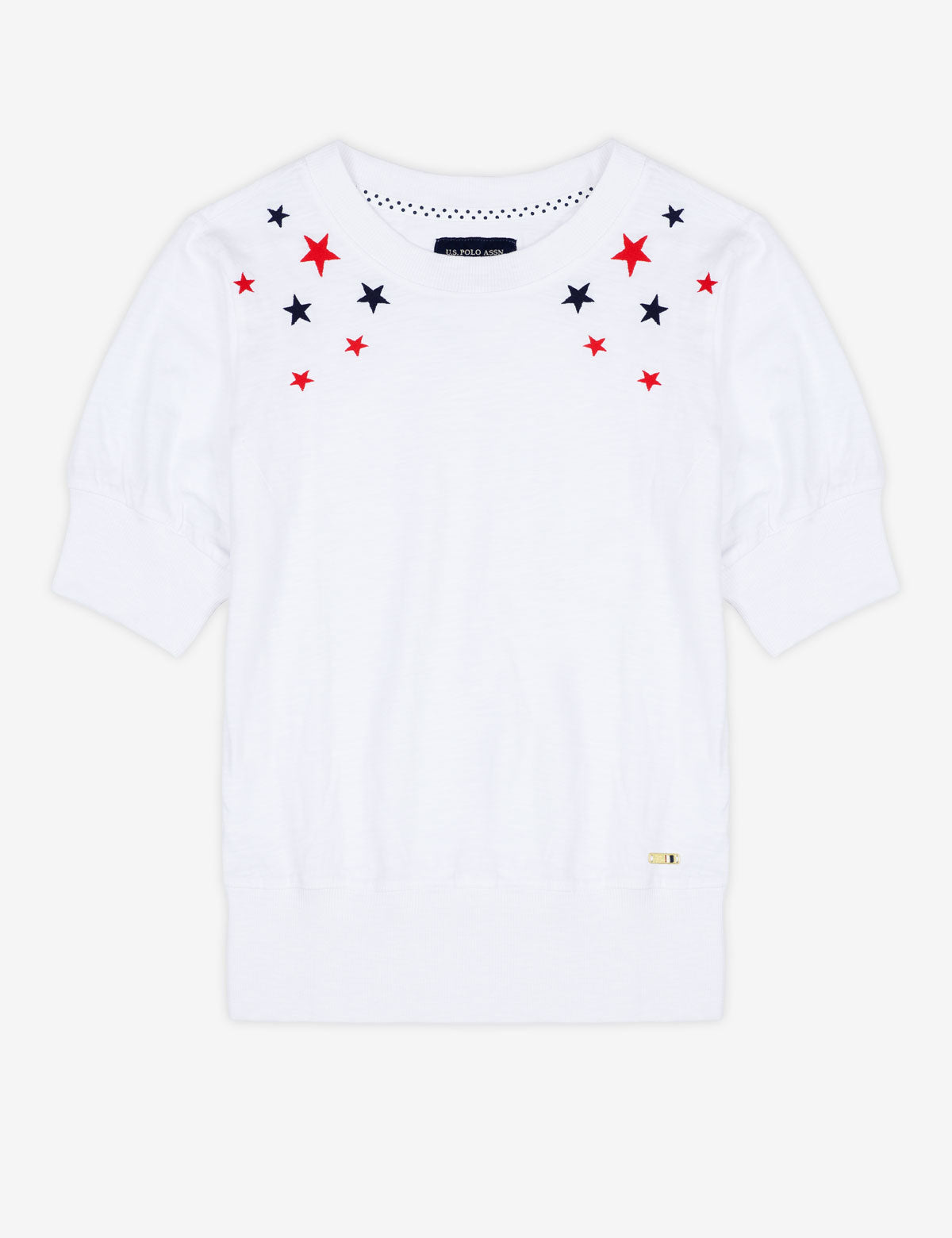 STAR PRINT SHORT SLEEVE TOP - U.S. Polo Assn.