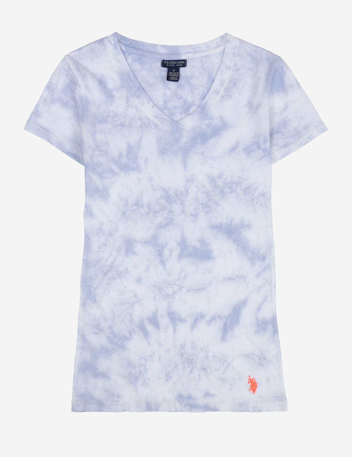 TIE DYE V-NECK T-SHIRT - U.S. Polo Assn.