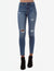 HIGH RISE DESTRUCTED JEANS - U.S. Polo Assn.