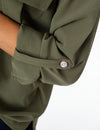 TWO POCKET SOLID UTILITY SHIRT - U.S. Polo Assn.